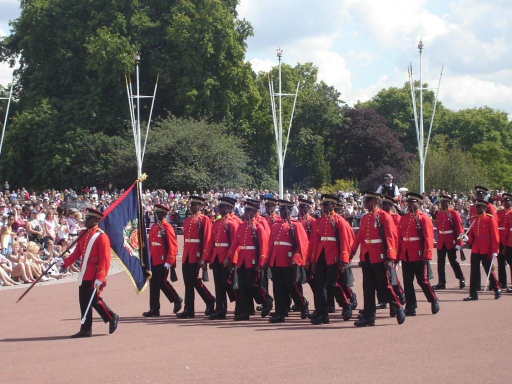 A troca da guarda no Palácio é imperdível. Foto: Marcelle Ribeiro