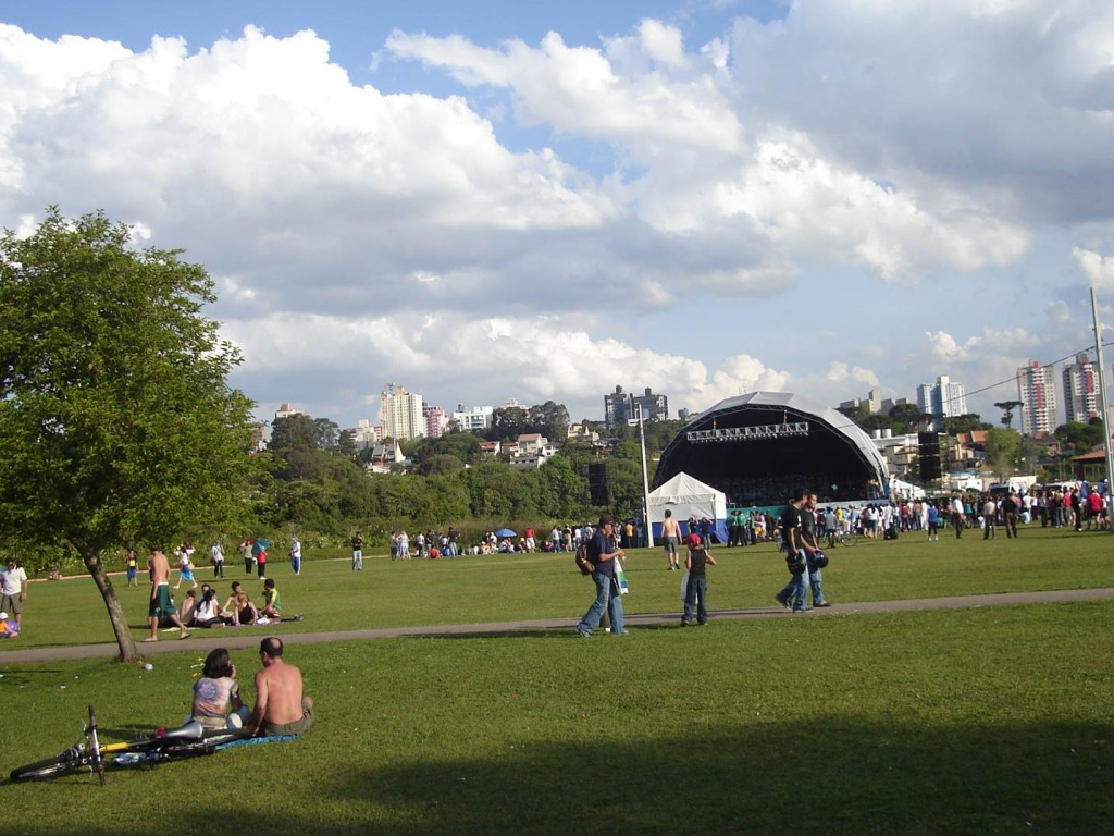 Parque Barigui. Foto: Marcelle Ribeiro