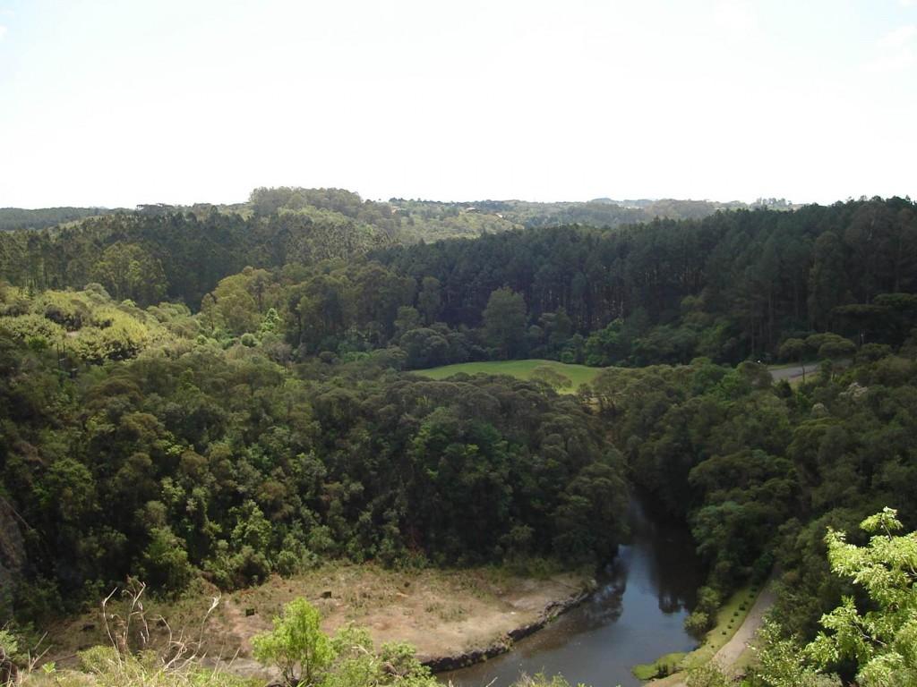 Visual da parte alta do Parque do Tanguá. Foto: Marcelle Ribeiro