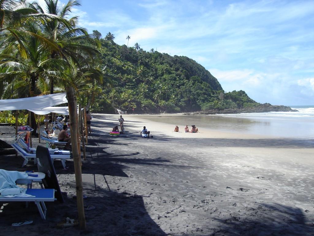 Praia de Itacarezinho. Foto: Marcelle Ribeiro