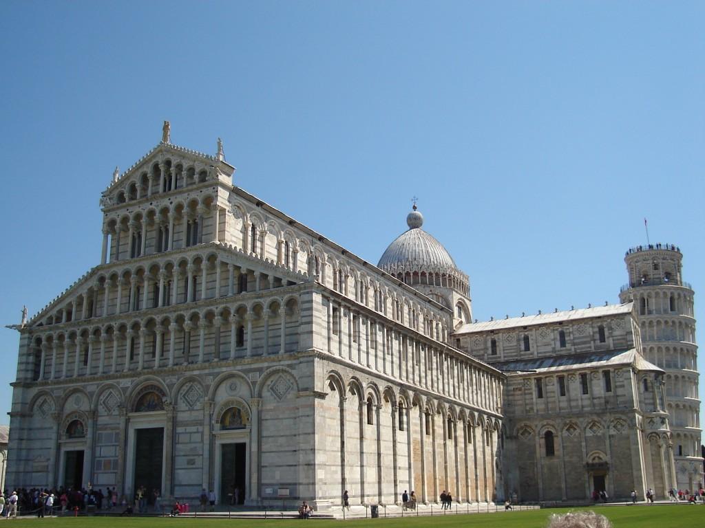 Duomo e a Torre de Pisa. Foto: Marcelle Ribeiro