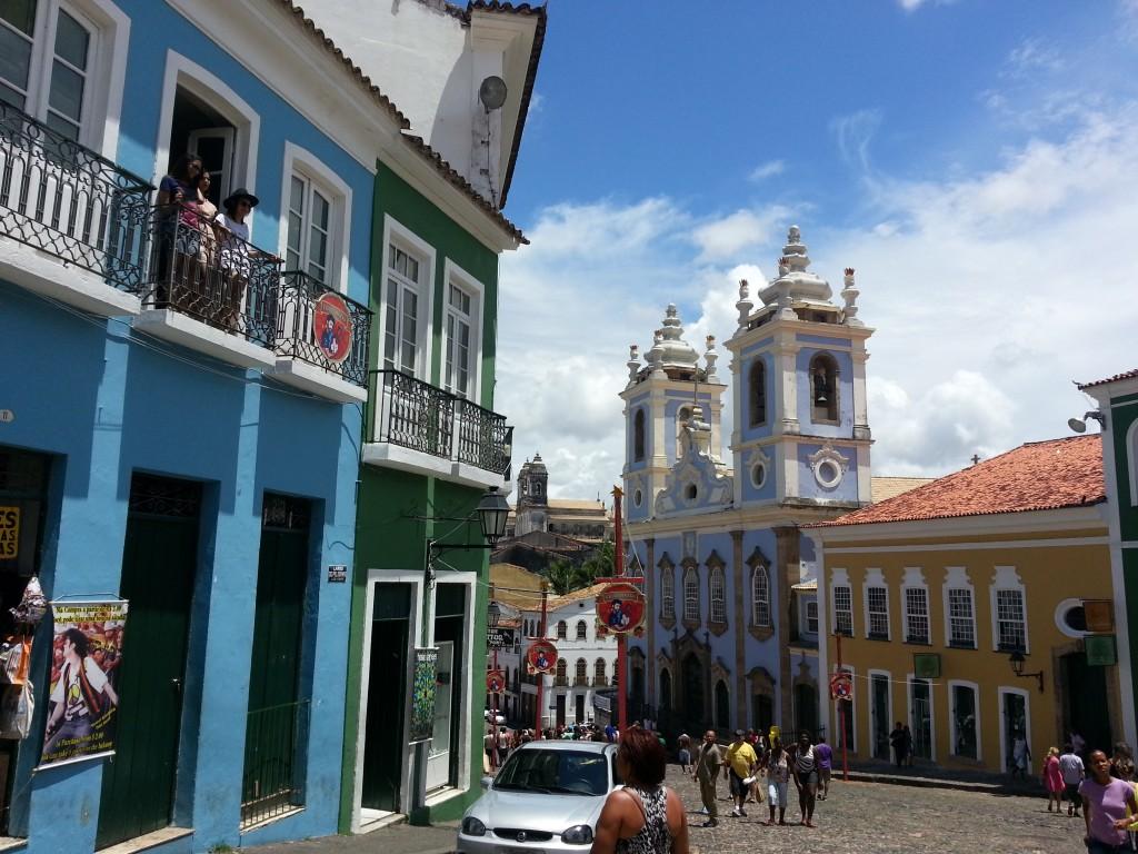 Pelourinho, em Salvador. Foto: Marcelle Ribeiro