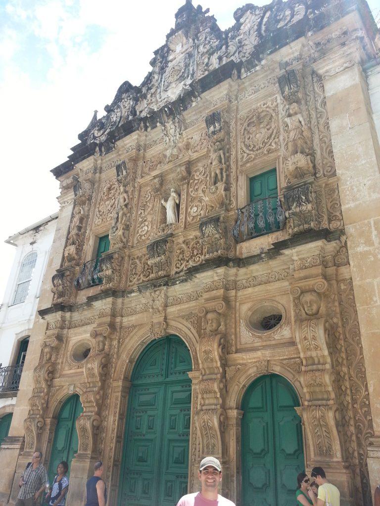 Fachada da Igreja de São Francisco, no Pelourinho. Foto: Marcelle Ribeiro