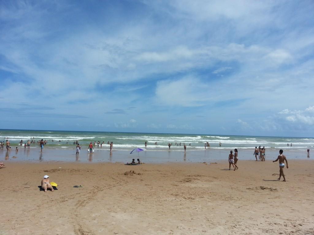 Praia do Flamengo, em Salvador. Foto: Marcelle Ribeiro