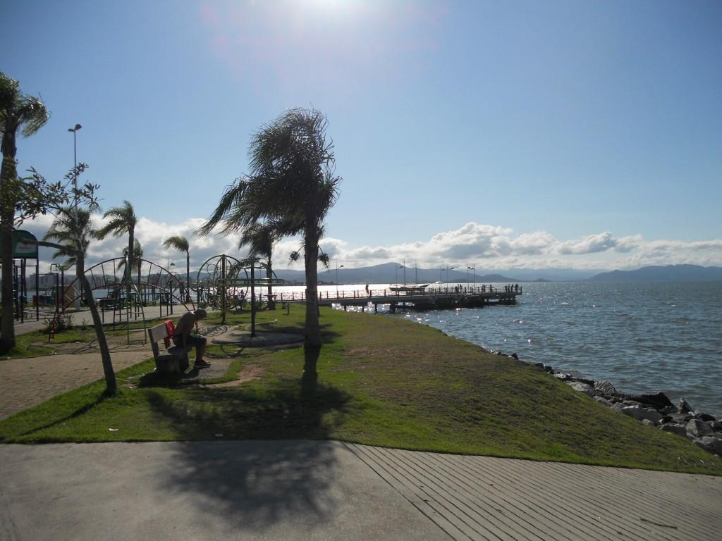 Trapiche Municipal de Florianópolis. Foto: Marcelle Ribeiro