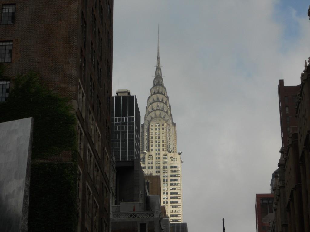 Chrysler Building, em Nova York. Foto: Marcelle Ribeiro