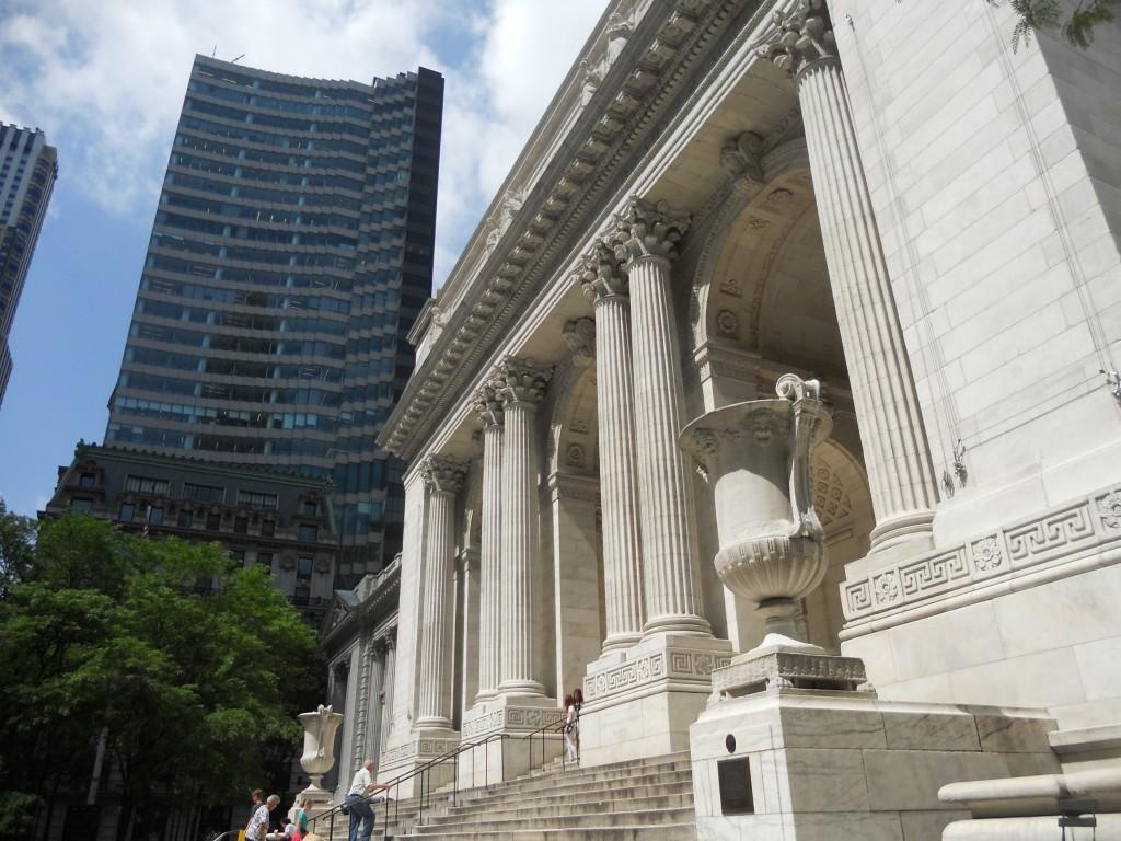 New York Public Library. Foto: Marcelle Ribeiro