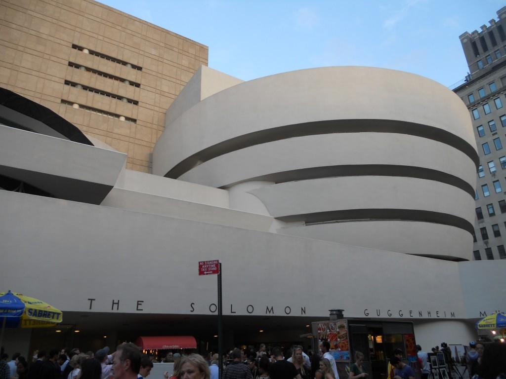 Museu Guggenheim, em Nova York. Foto: Marcelle Ribeiro
