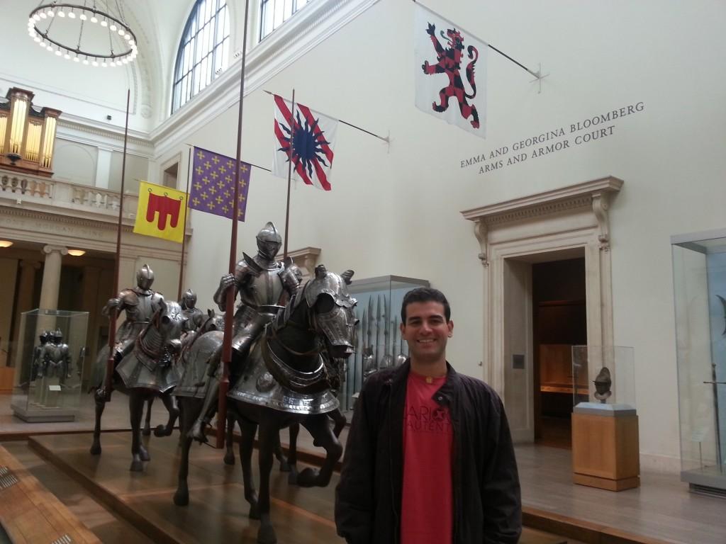 Maridão no Metropolitan Museum of Art. Foto: Marcelle Ribeiro