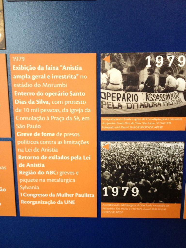 Memorial da Resistência de São Paulo. Foto: Marcelle Ribeiro