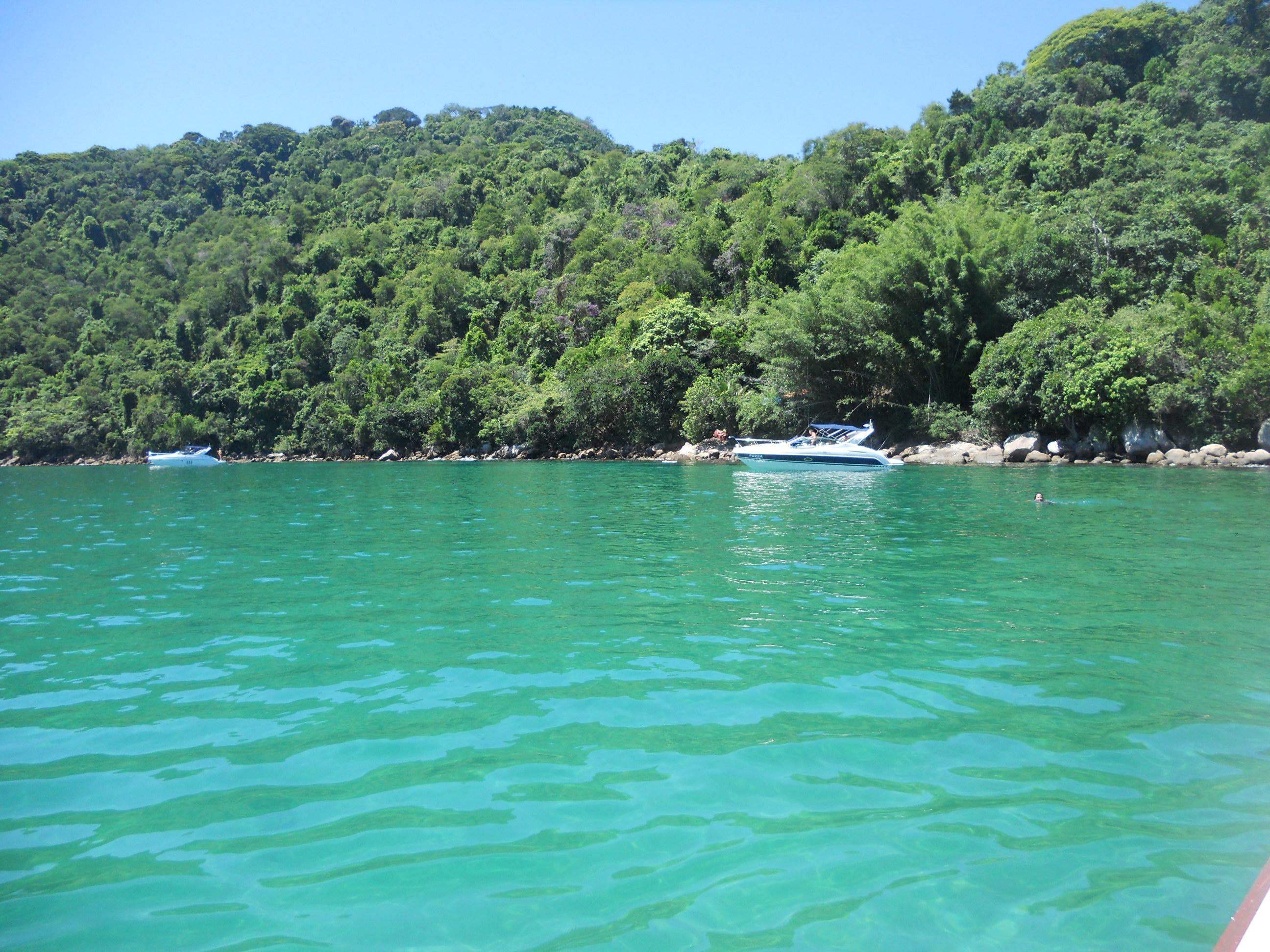 Lagoa Verde, em Ilha Grande. Foto: Marcelle Ribeiro