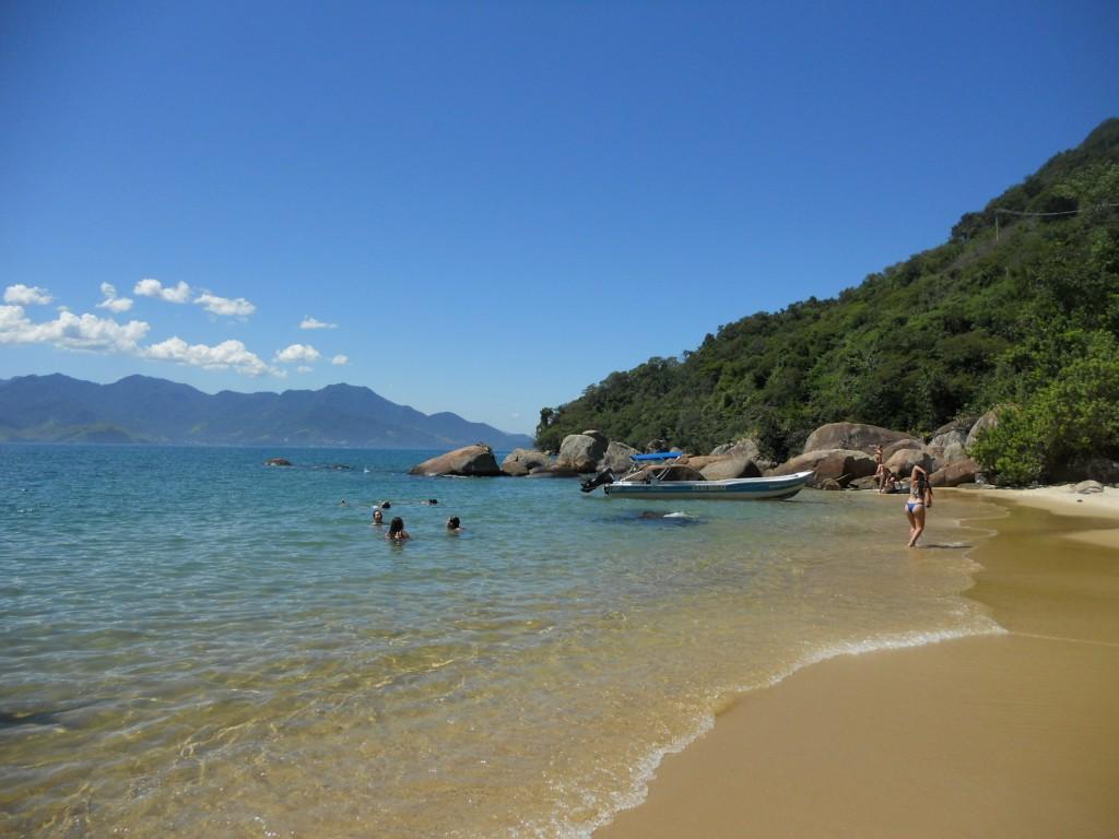 Praia da Feiticeira, em Ilha Grande. Foto: Marcelle Ribeiro