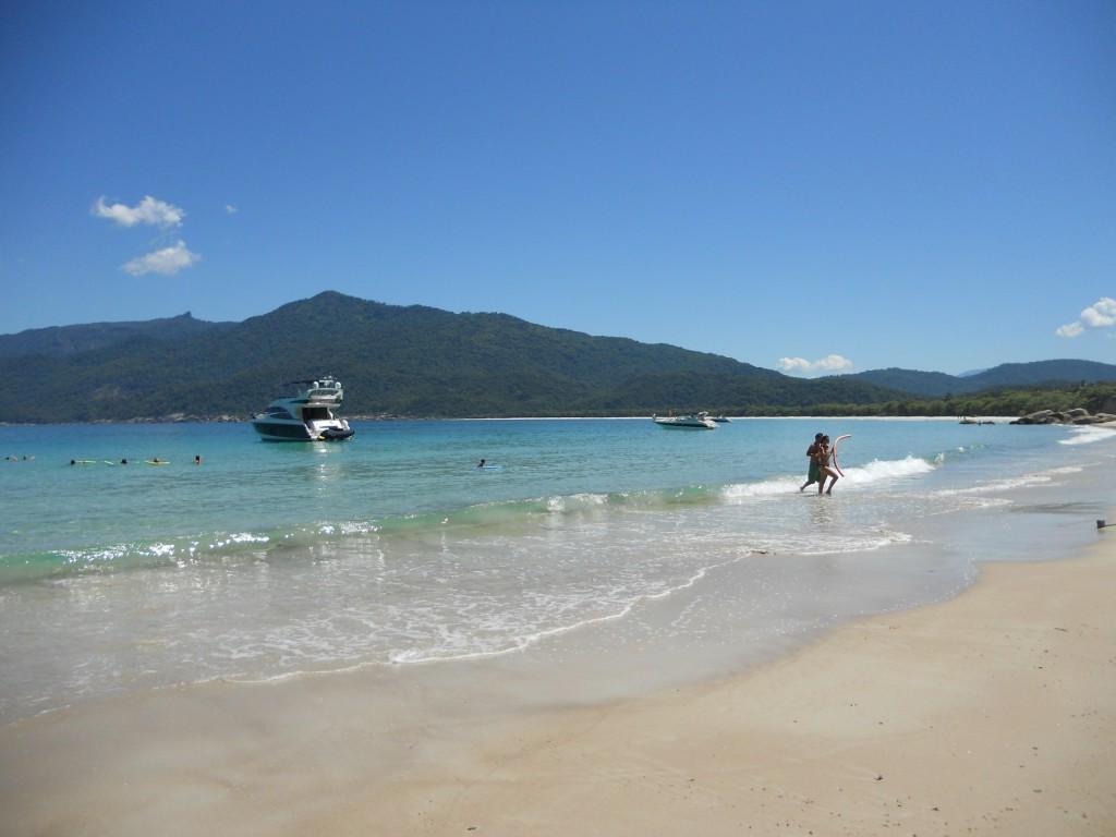 Praia de Lopes Mendes, em Ilha Grande. Foto: Marcelle Ribeiro