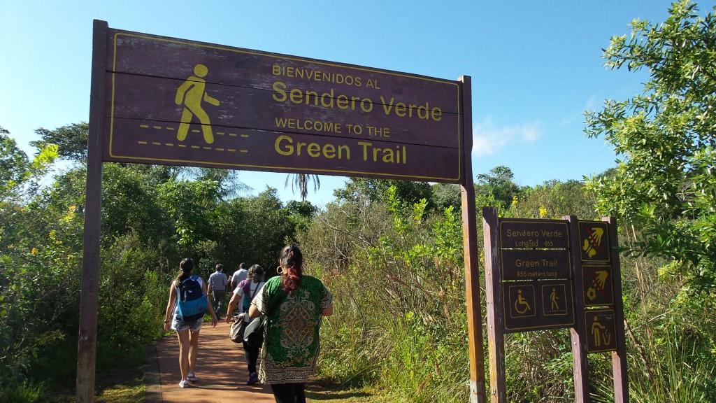 Sendero Verde, trilha facílima no Parque Nacional Iguazú. Foto: Marcelle Ribeiro