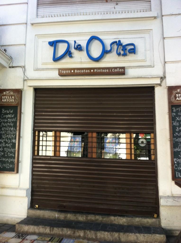 Bar De la Ostia, em Santiago. Foto: Adelia Ribeiro