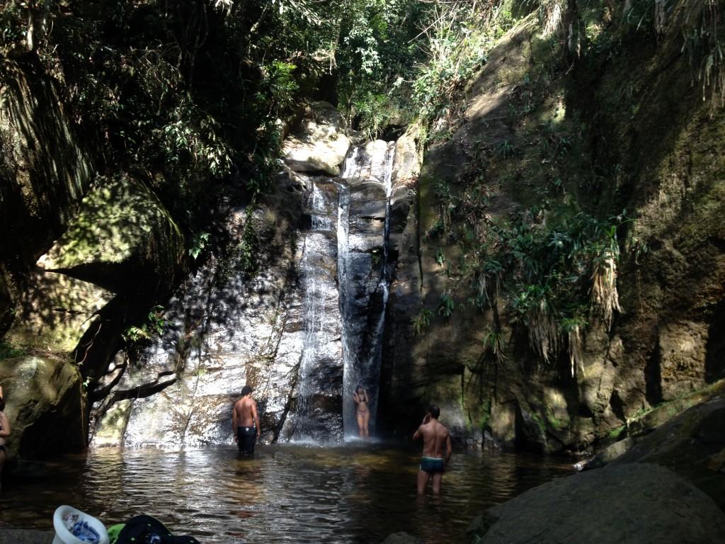 Cachoeira do Chuveiro, no Rio.