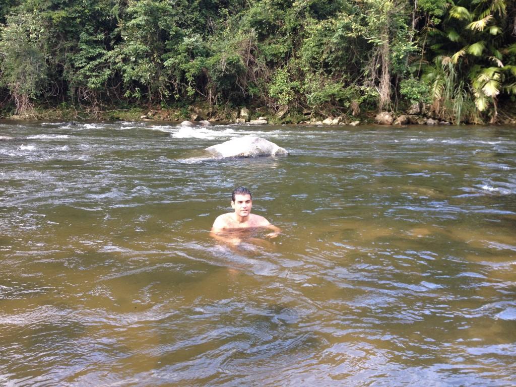 Encontro dos Rios, em Lumiar. Foto: Marcelle Ribeiro