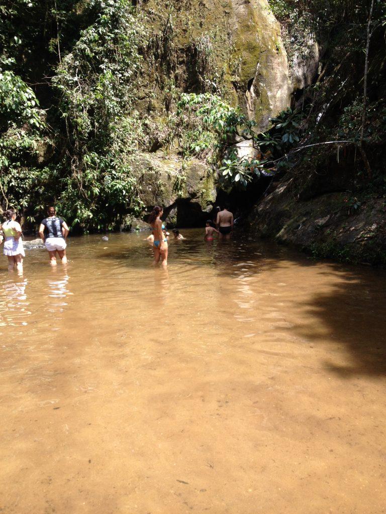 Poço da Cachoeira do Quebra, no Rio de Janeiro. Foto: Ticianne Ribeiro