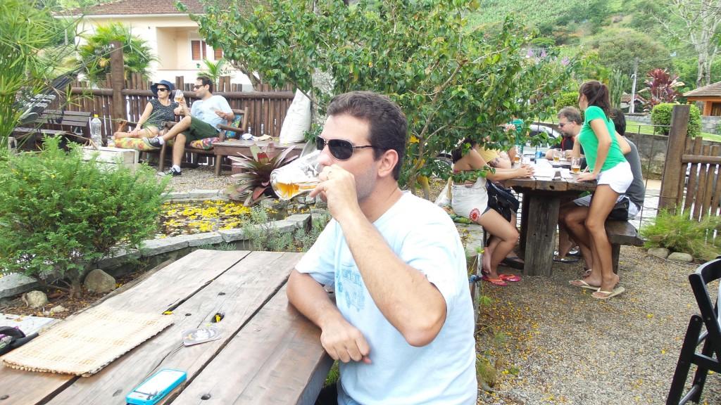 Cervejaria e loja Ninho de Guaxo, em Lumiar. Foto: Marcelle Ribeiro