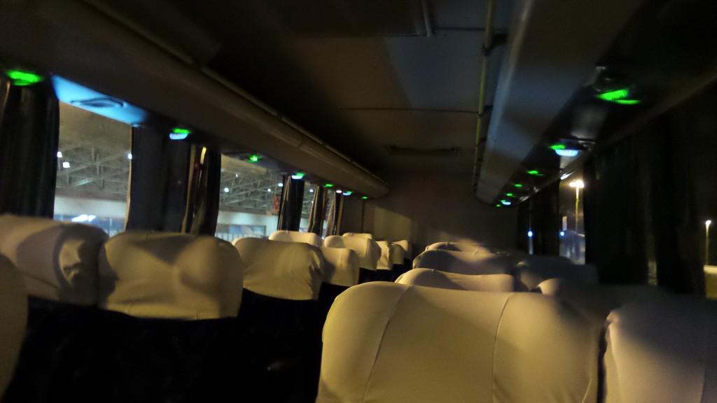 Ônibus Executivo que vai para o aeroporto do Galeão. Foto: Marcelle Ribeiro