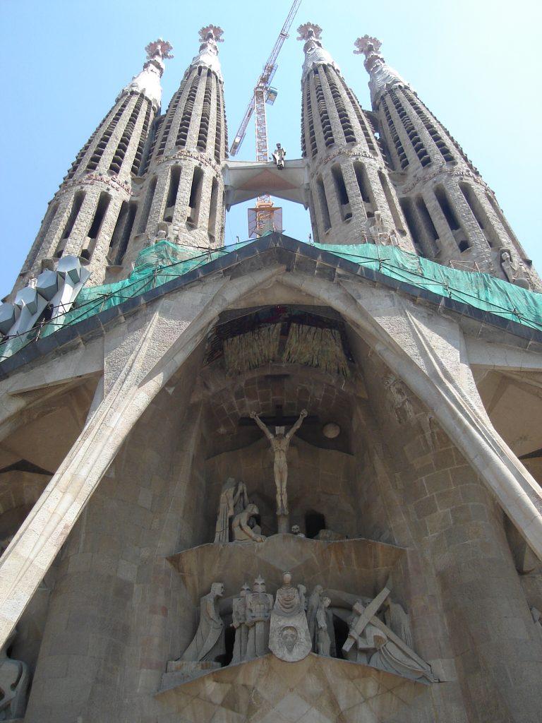 Igreja Sagrada Família, em Barcelona. Foto: Marcelle Ribeiro