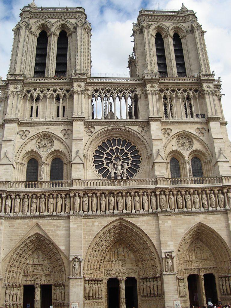 Catedral de Notre Dame, em Paris. Foto: Marcelle Ribeiro