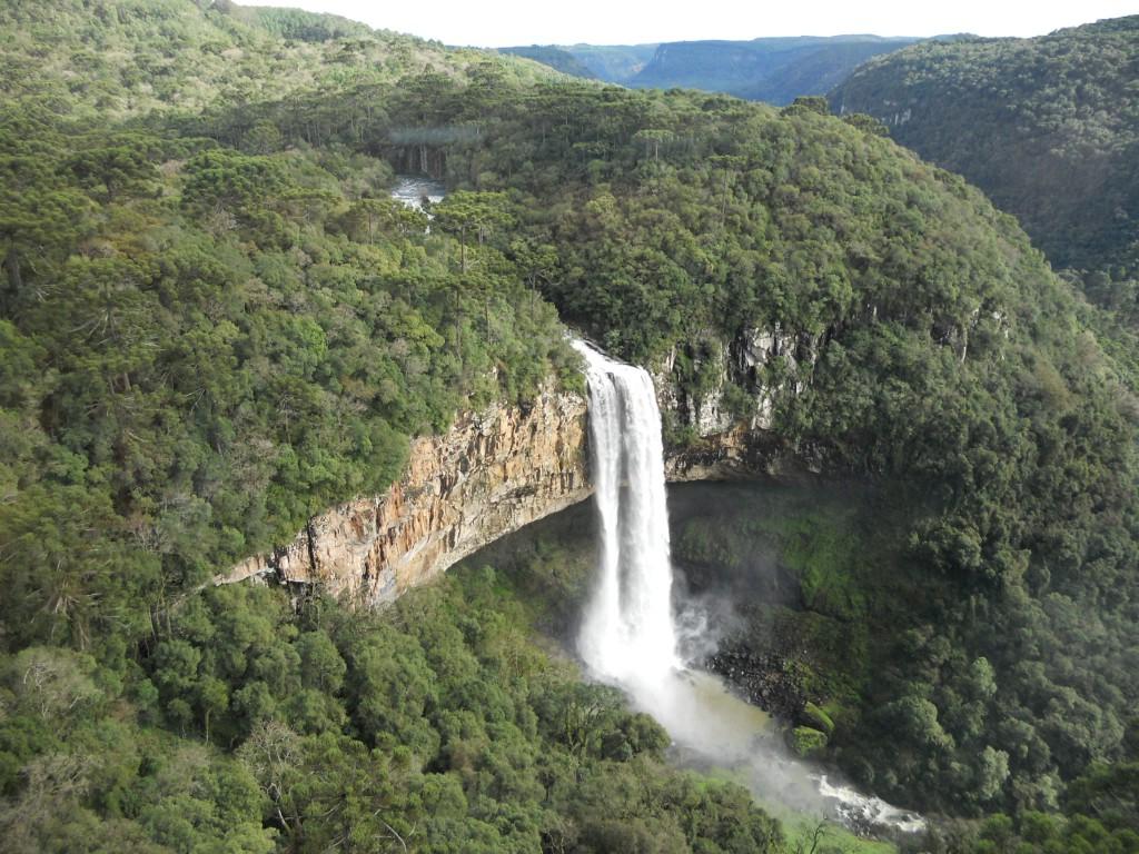 Cachoeira do Caracol, em Canela. Foto: Marcelle Ribeiro
