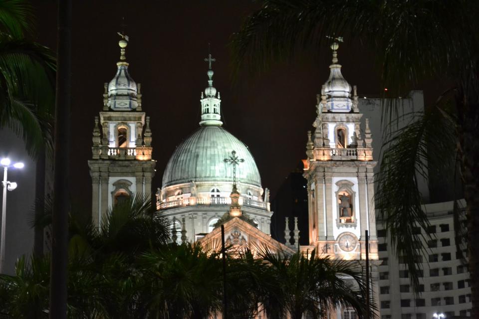 Igreja da Candelária, no Rio de Janeiro. Foto: Gustavo Calil