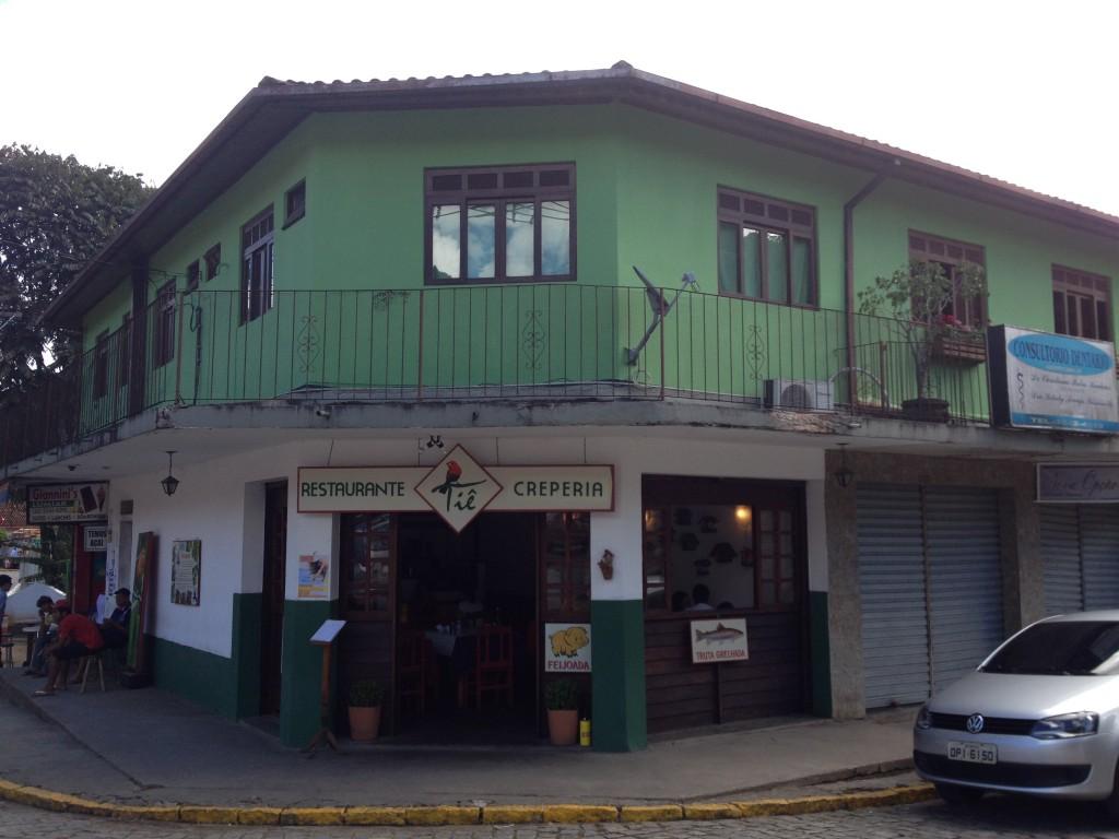 Restaurante Tiê, em Lumiar. Foto: Marcelle Ribeiro