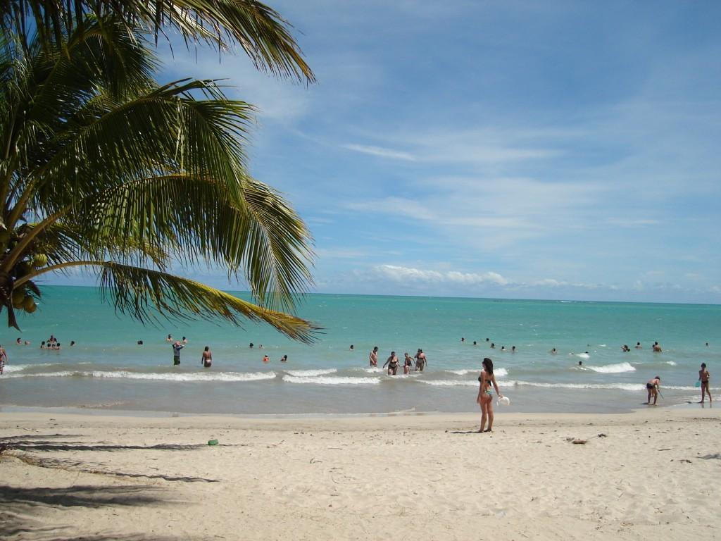 Praia de Ipioca, perto de Maceió. Foto: Marcelle Ribeiro