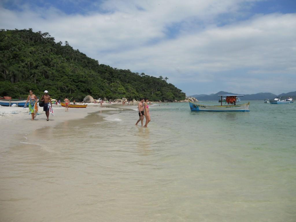 Praia da Ilha do Campeche. Foto: Marcelle Ribeiro