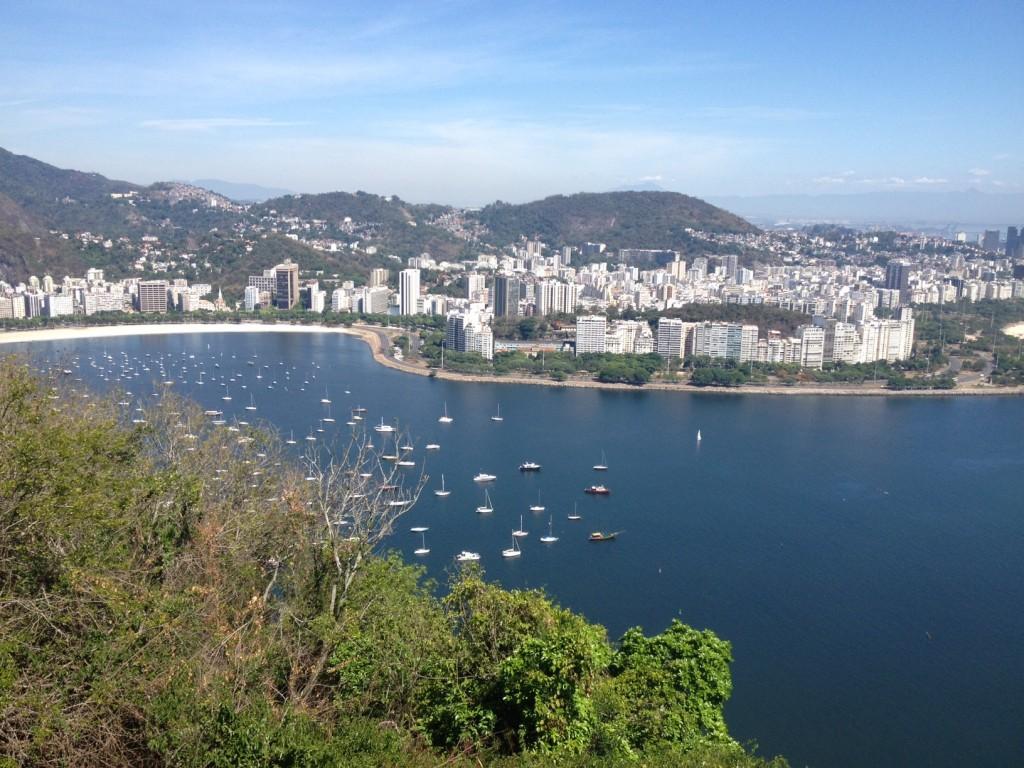 A vista maravilhosa é a recompensa da trilha do Morro da Urca. Foto: Marcelle Ribeiro