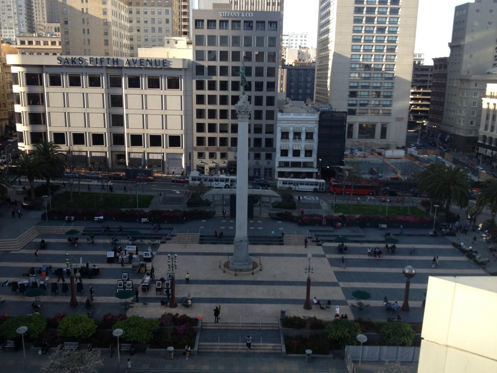 Union Square, San Francisco. Foto: Marcelle Ribeiro