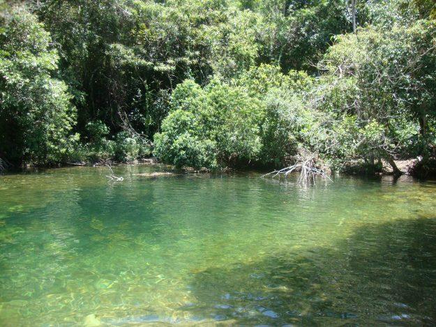 rio caminho cachoeira do segredo chapada dos veadeiros