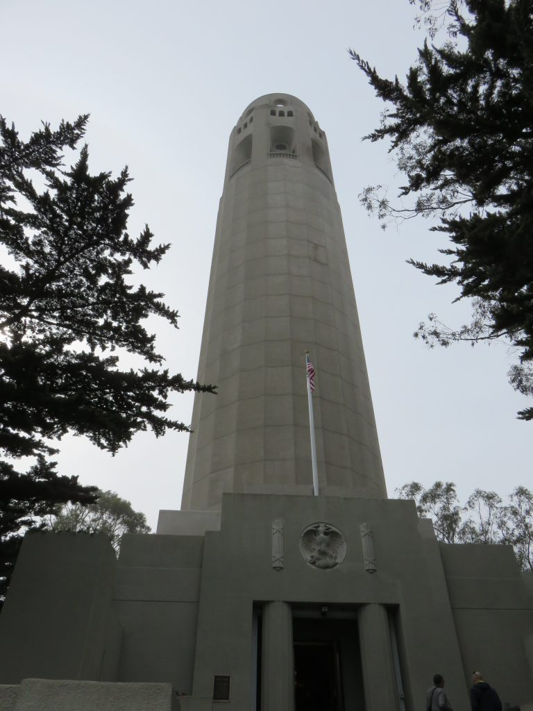 Coit Tower. Foto: Marcelle Ribeiro