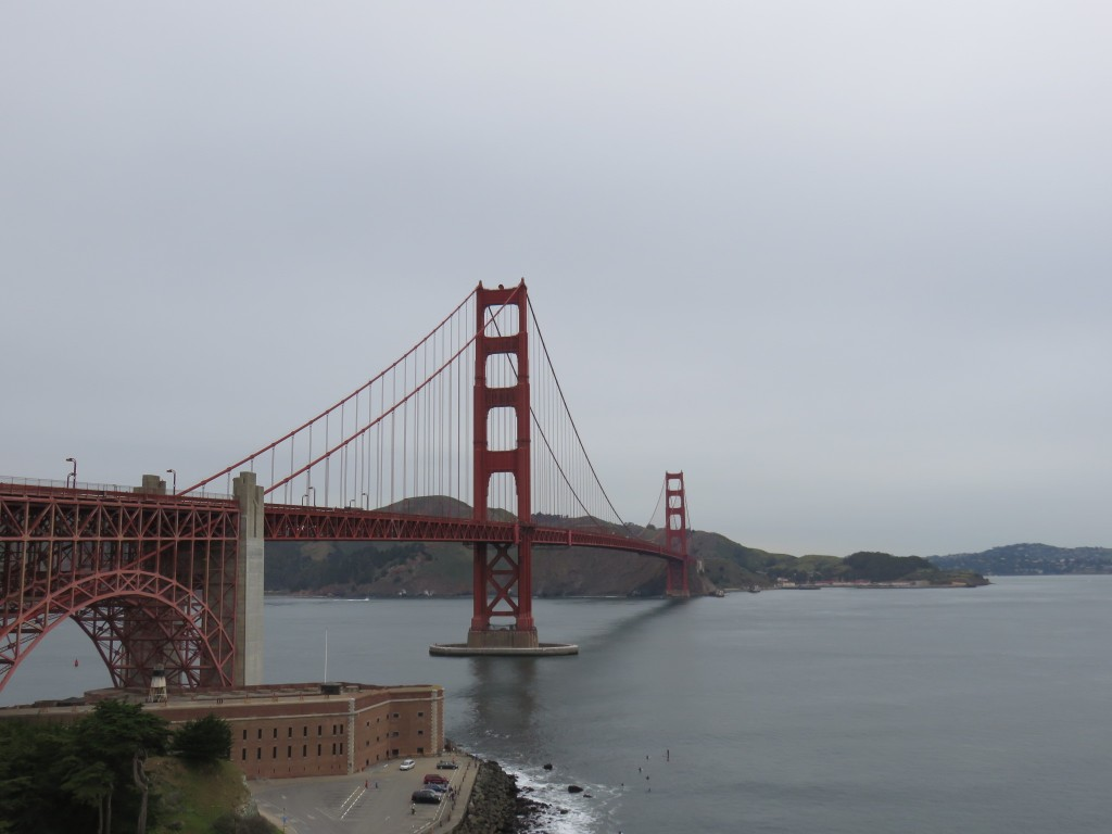 Golden Gate Bridge. Foto: Marcelle Ribeiro