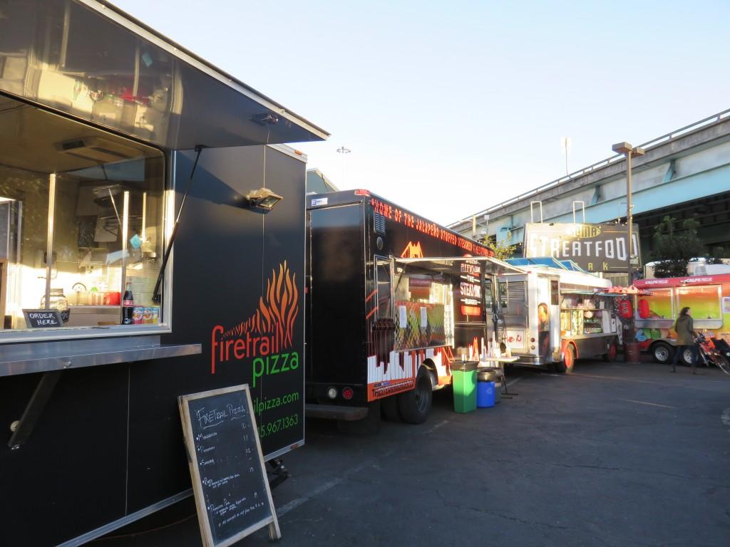 Food trucks. Foto: Marcelle Rbeiro