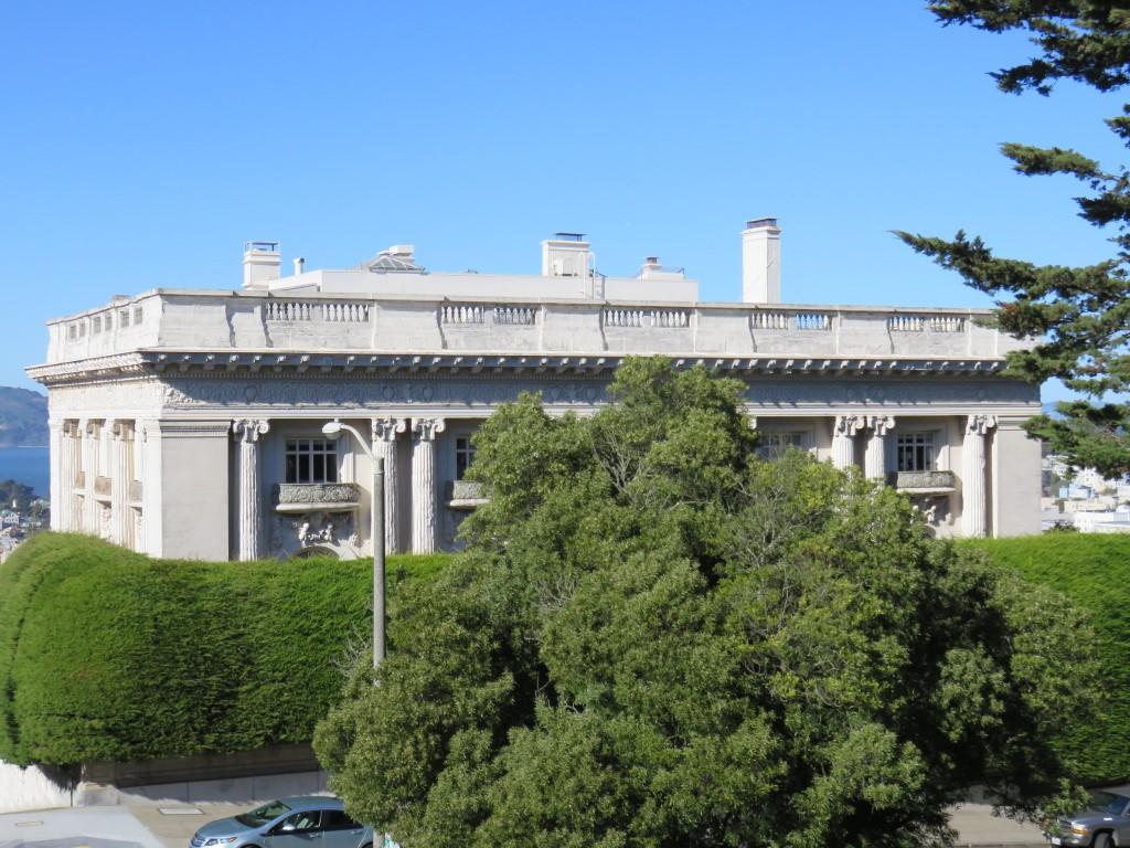 Spreckels Mansion, em San Francisco. Foto: Marcelle Ribeiro