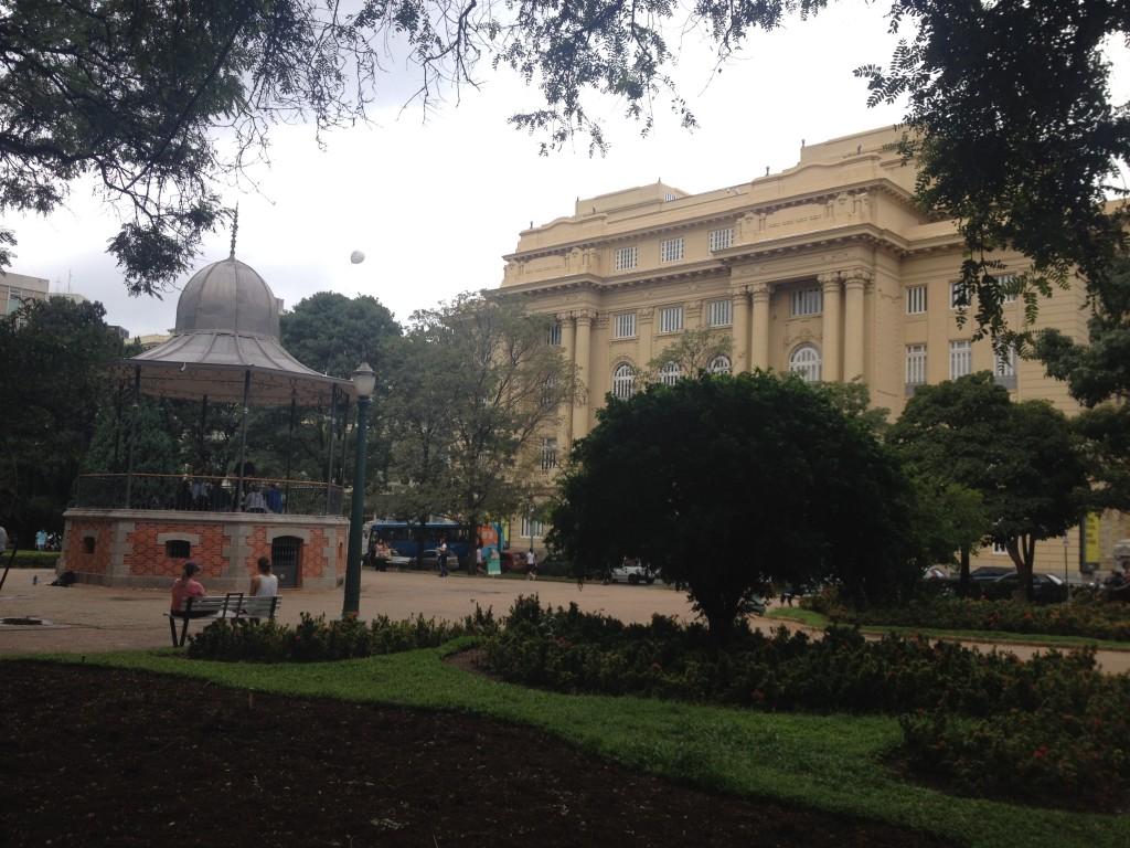 Praça da Liberdade, em BH. Foto: Marcelle Ribeiro