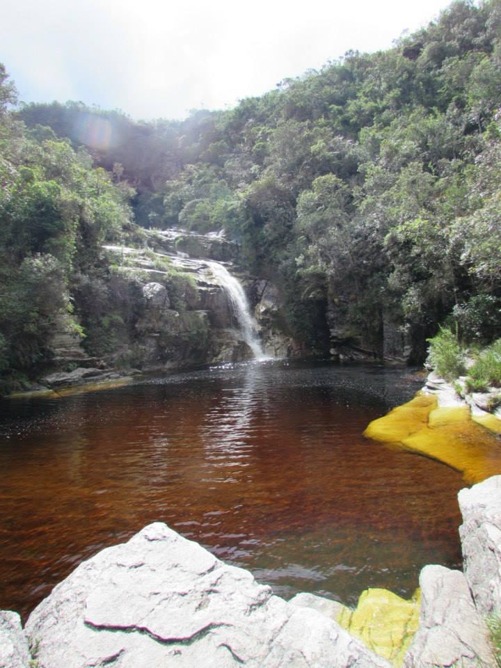 Cachoeira dos Macacos, em Ibitipoca. Foto: Lygia Freitas.