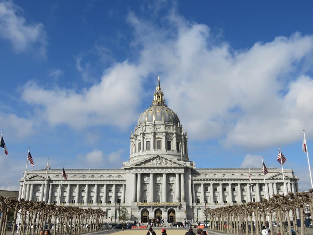 City Hall de San Francisco. Foto: Marcelle Ribeiro