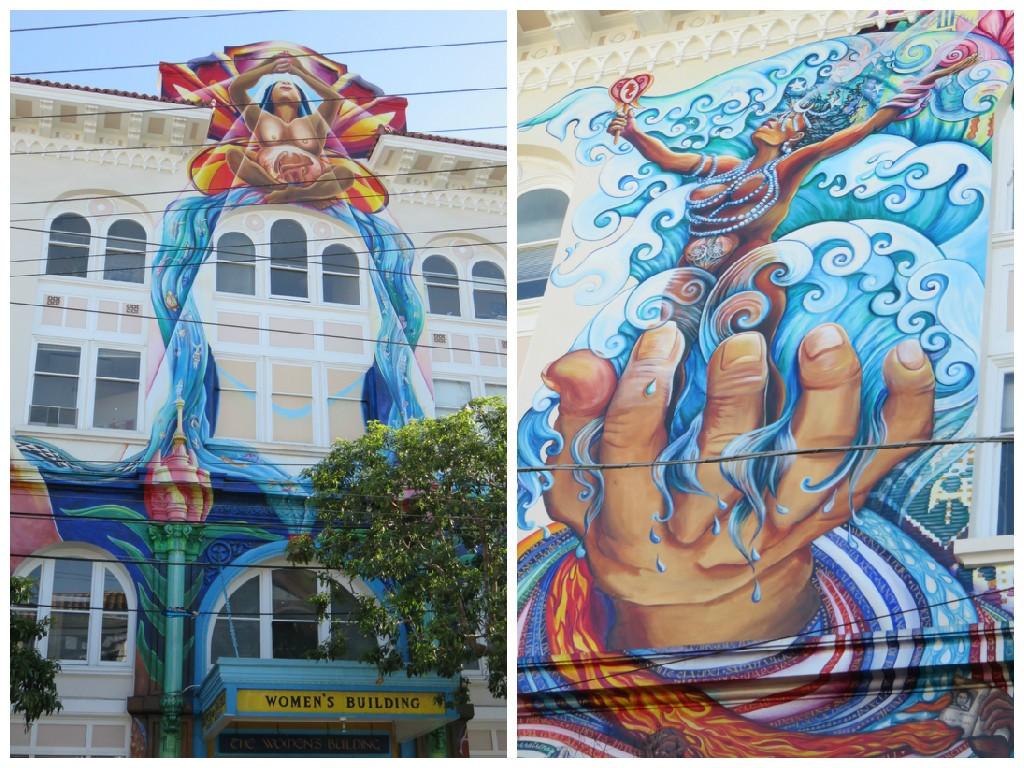 Murais de Mission District, em San Francisco. Foto: Marcelle Ribeiro