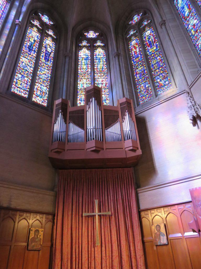 Grace Cathedral, em San Francisco. Foto: Guilherme Calil