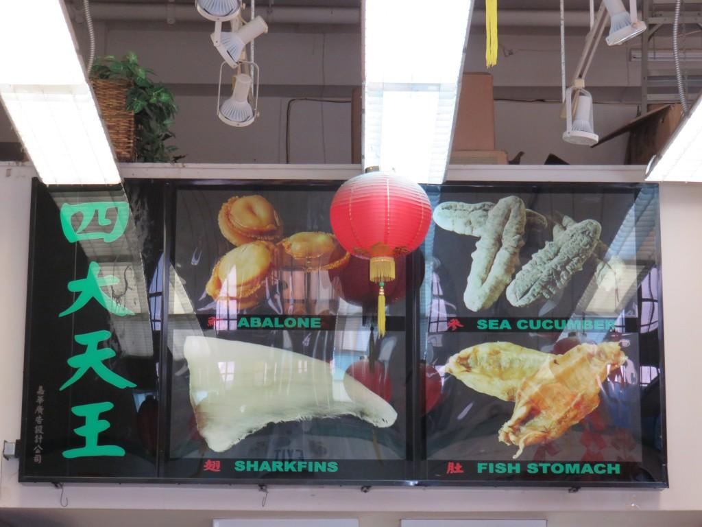 Cardápio de restaurante em Chinatown, San Francisco. Foto: Marcelle Ribeiro