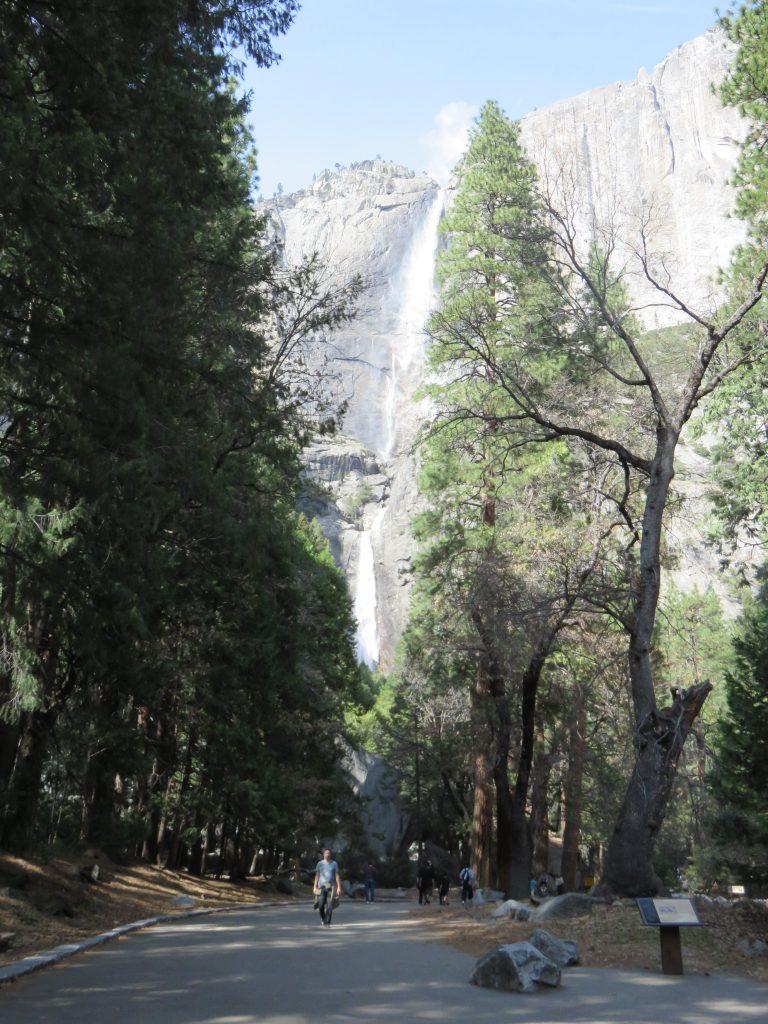 Upper e Lower Yosemite Falls. Foto: Marcelle Ribeiro