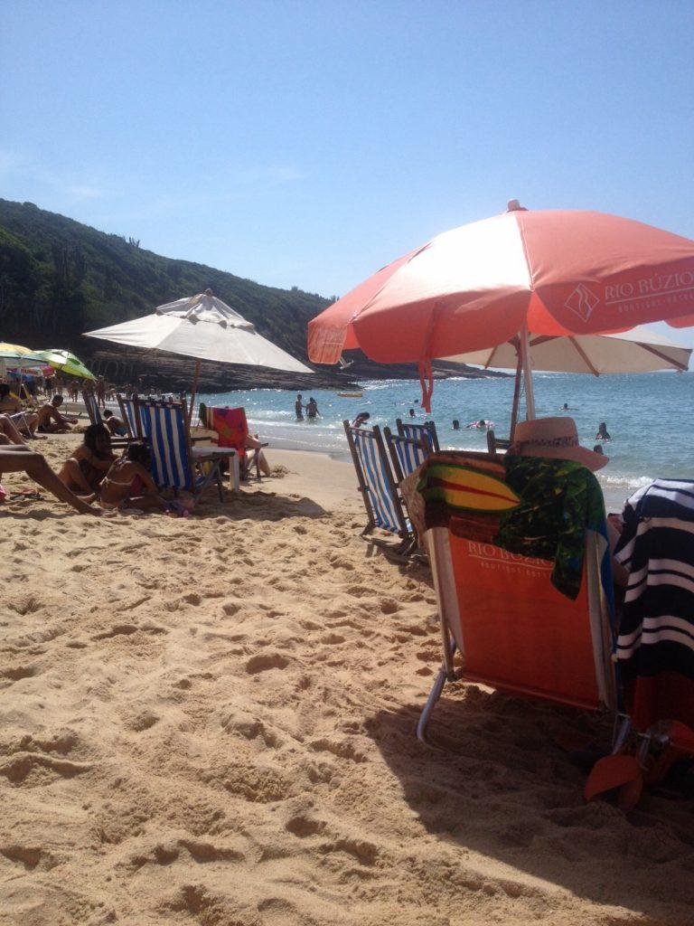 Praia de João Fernandes, em Búzios. Foto: Guilherme Calil
