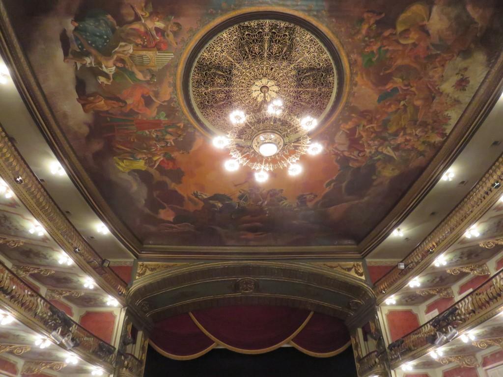 Teatro da Paz, em Belém. Foto: Marcelle Ribeiro