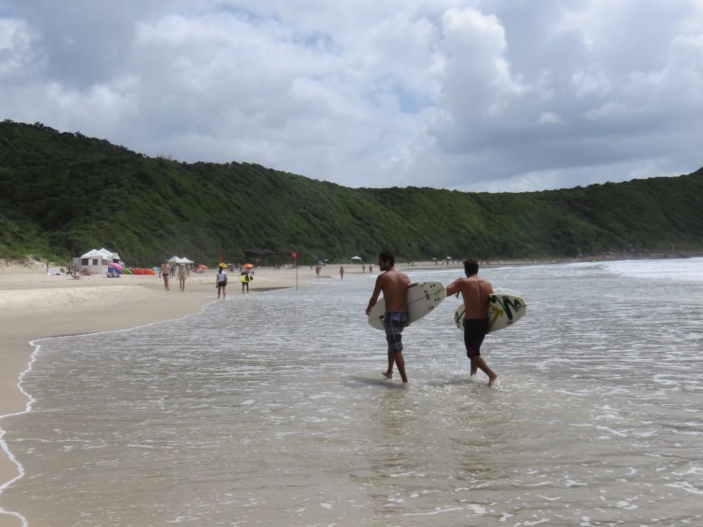 Praia do Rosa, Rosa Norte. Foto: Marcelle Ribeiro.