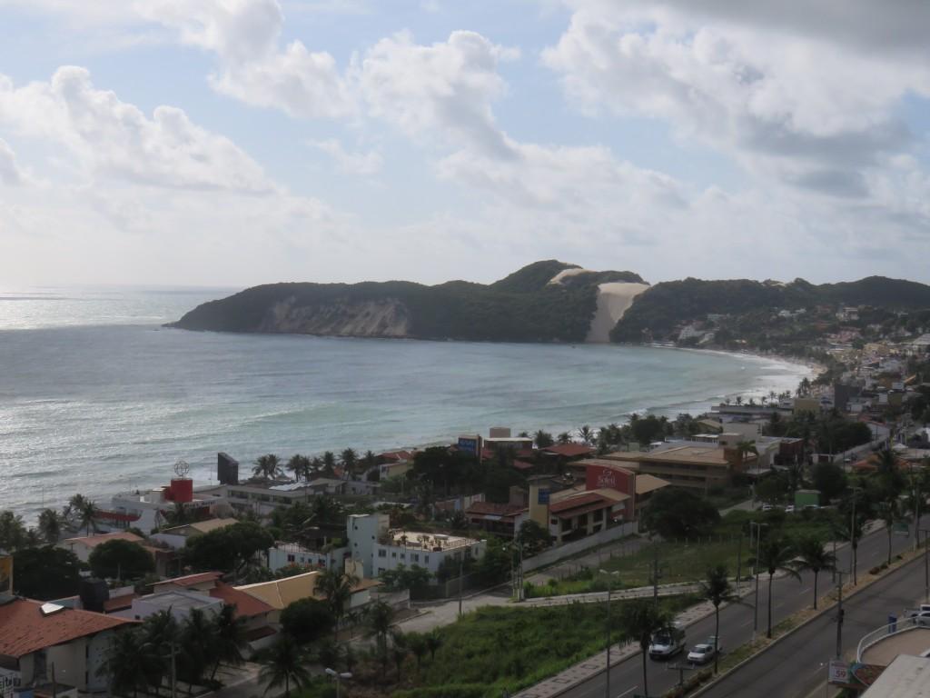 Ponta Negra é o bairro que concentra mais hotéis em Natal. Foto: Marcelle Ribeiro.