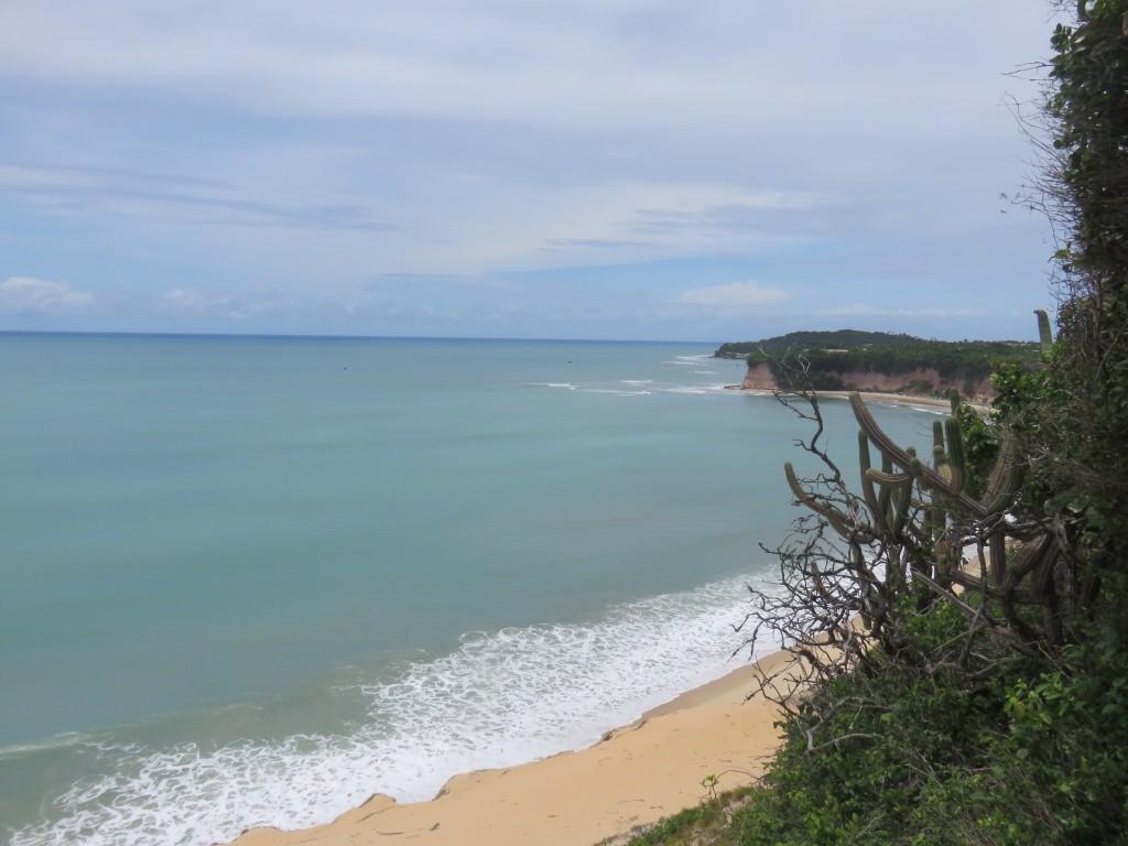 Praia vista do Santuário Ecológico de Pipa. Foto: Marcelle Ribeiro.